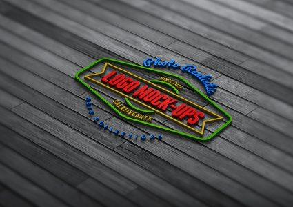 Мокапы логотипов