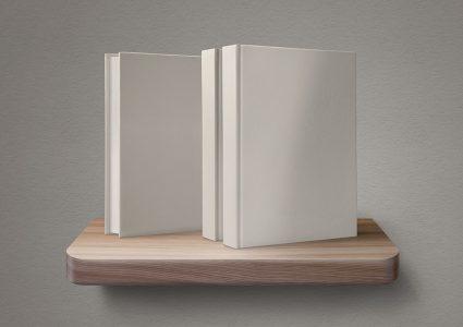 Мокап книжной обложки