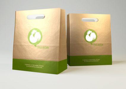 Бумажная упаковка фаст-фуда