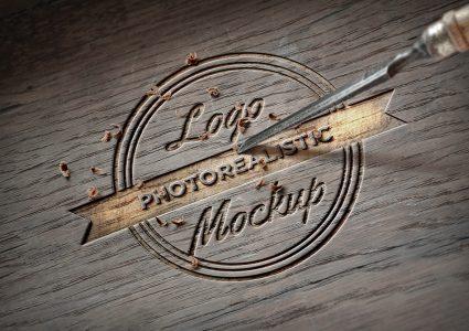 Мокап логотипа
