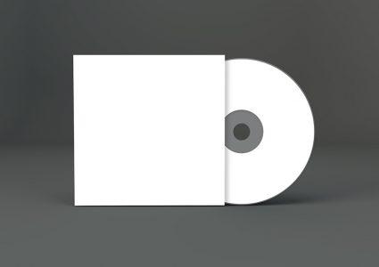 Мокап CD диска