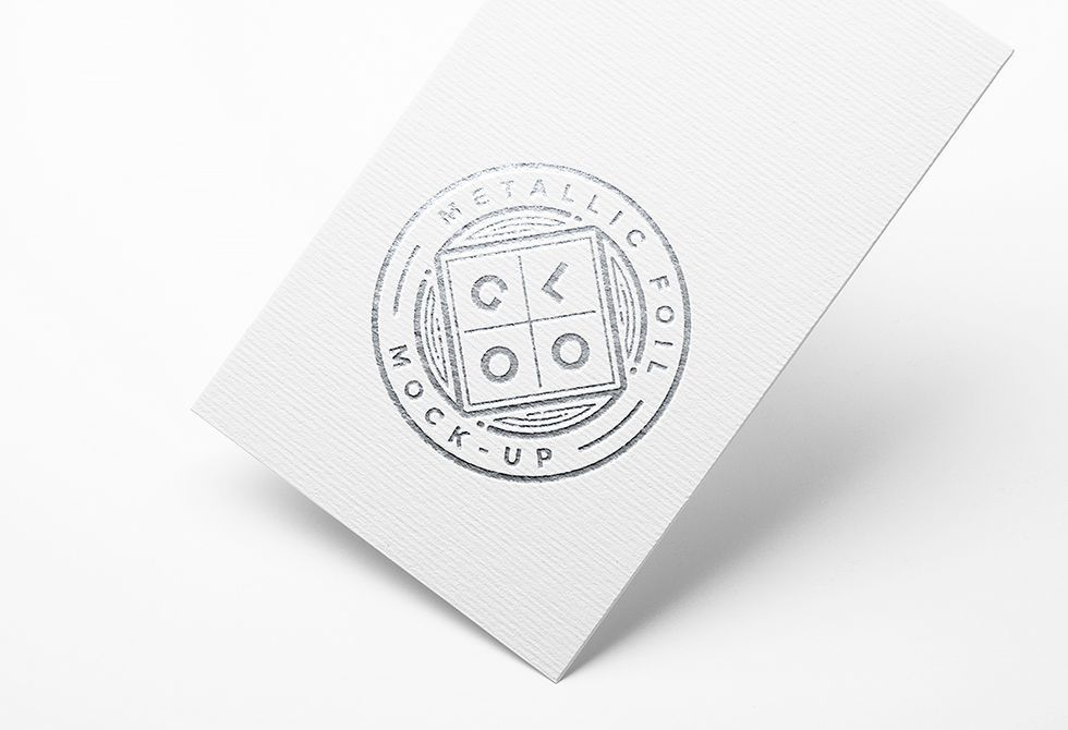 metallic-foil-logo-mockup