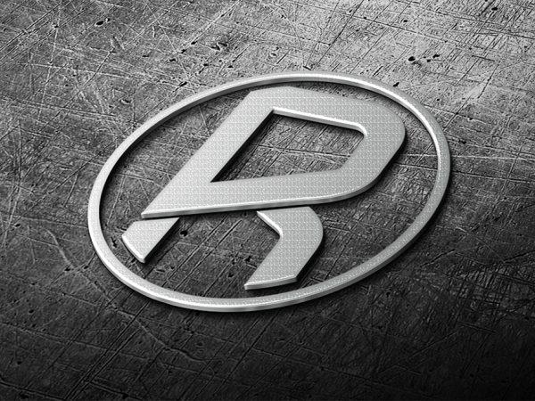 richhunter_photorealistic-logo-3d-steel_free