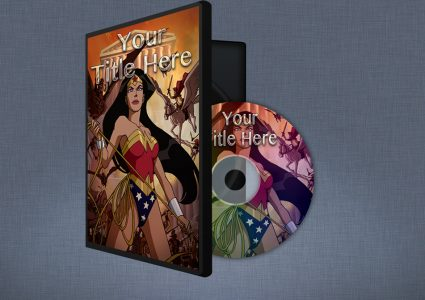 Мокап обложки DVD диска
