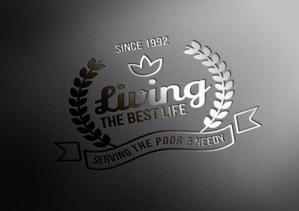 Мокап элегантного логотипа