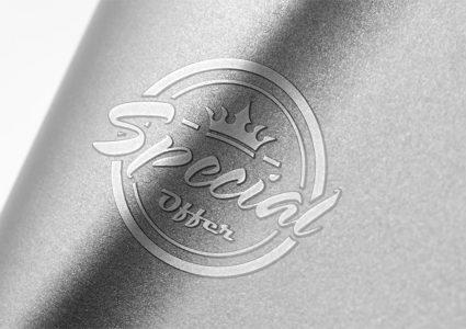 Подборка мокапов логотипов