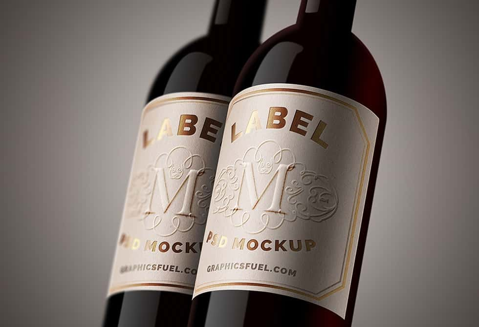 wine-bottle-label-mockup