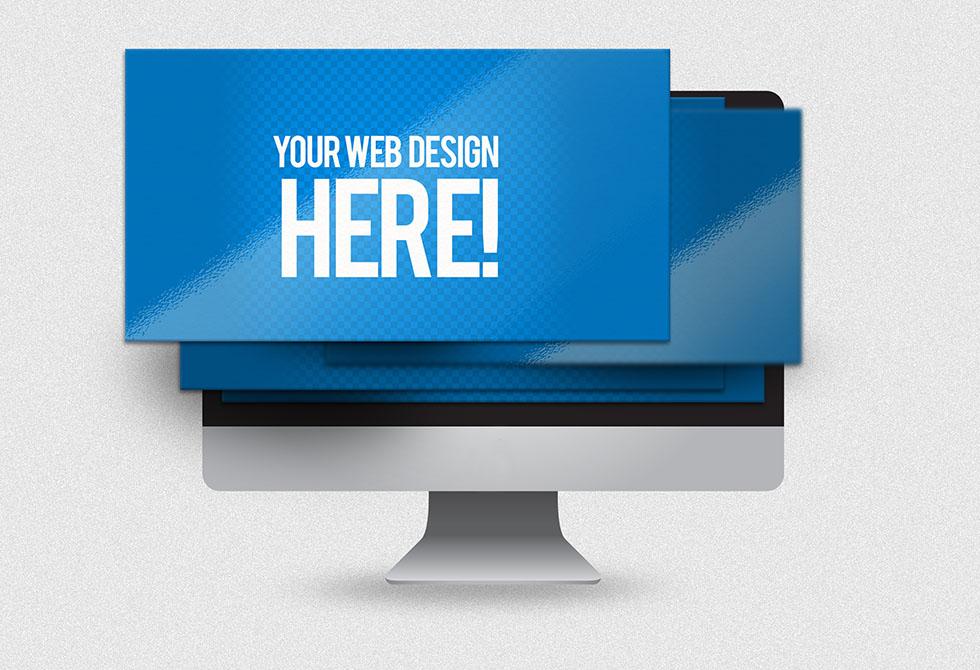 Мокап презентации сайта