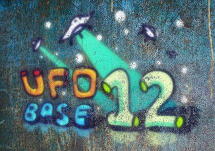 Мокап рисунков граффити