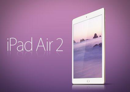 Мокап iPad Air