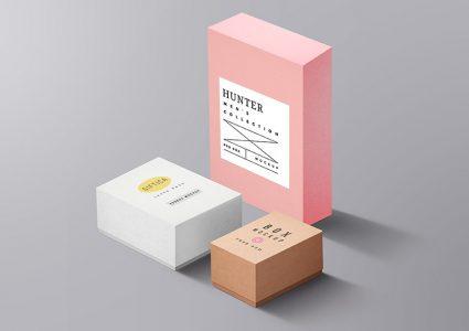 Мокап упаковки подарков