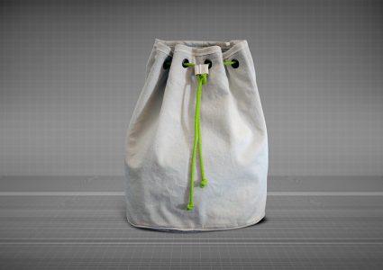 Мокап сумки для хранения одежды