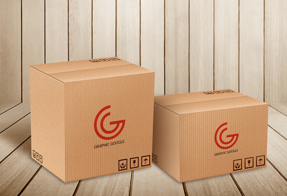 free-carton-delivery-packaging-box-logo-mockup