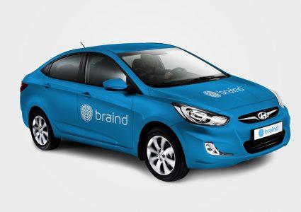 Мокап Hyundai Solaris