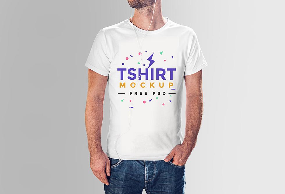Free-Tshirt-Mockup-PSD-Template