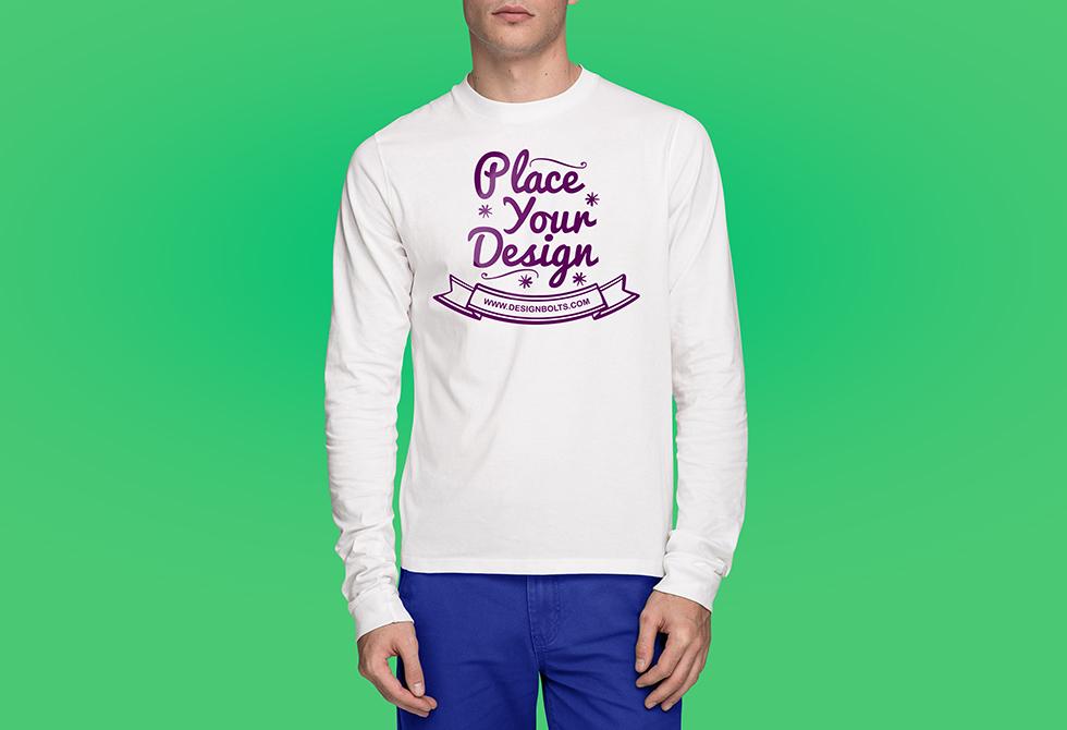 Free-tshirt-mockup-psd-front