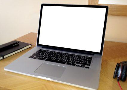 Мокап ноутбука