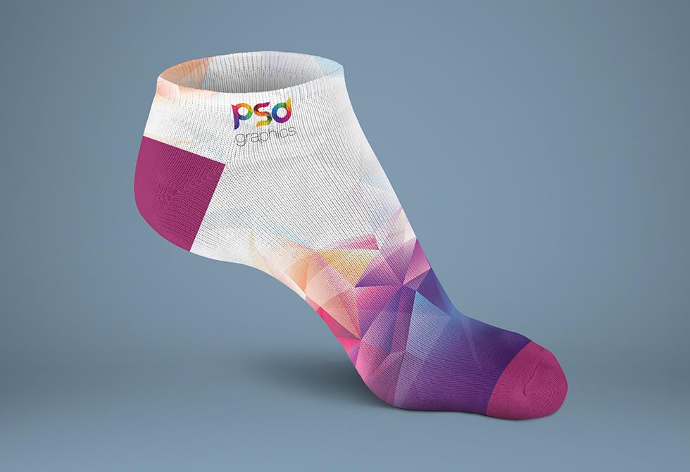 Sock Mockup Free PSD