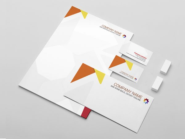 Stationery Mockup Template - Demo