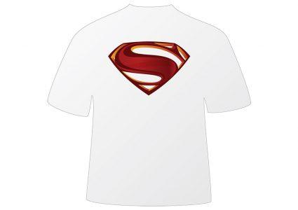 Мокап футболки супермена