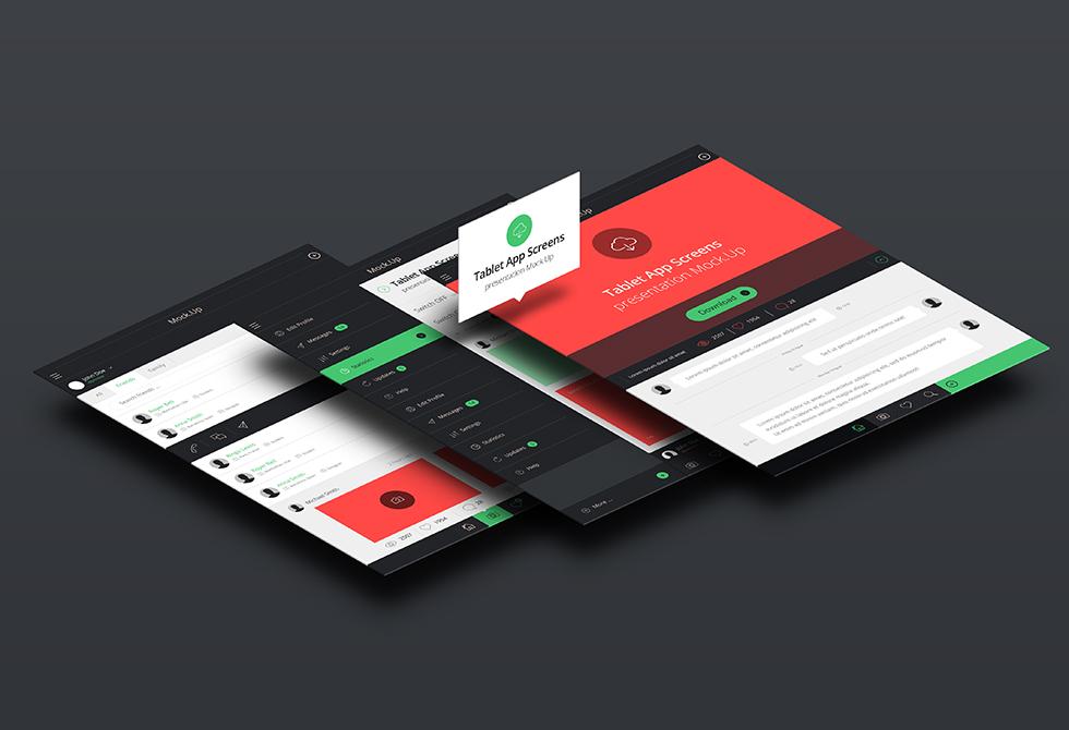 Tablet-Screens-presentation-Mock-up