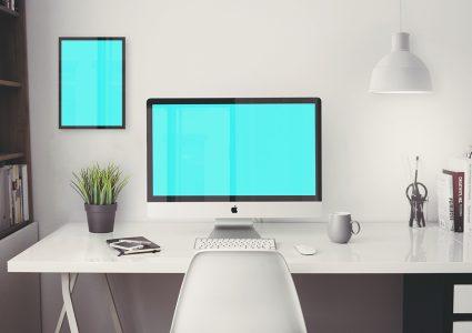 Мокап iMac