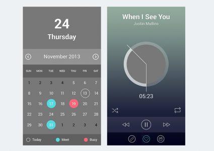 Мокап экрана iPhone