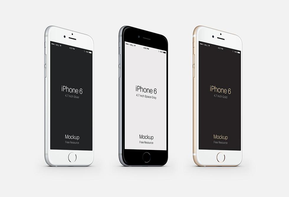 iPhone-6-Three-Quarters-View-Mockup