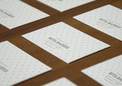Мокап красивых визиток