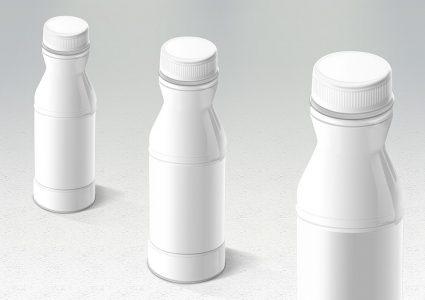 Мокап упаковки пластиковой бутылки