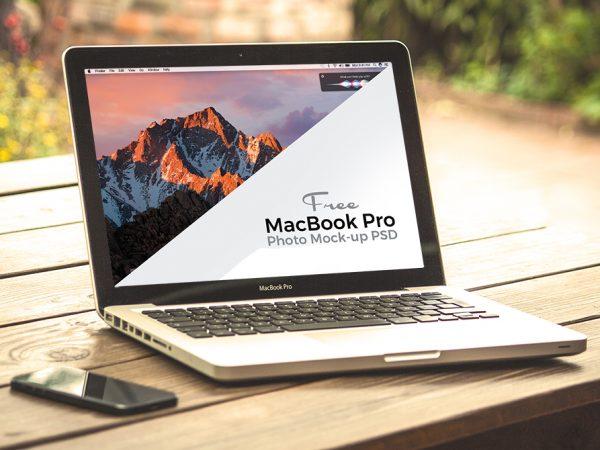 Мокап Apple MacBook Pro