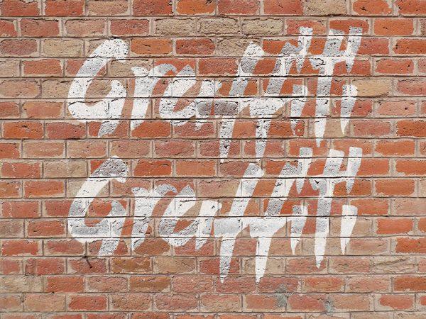 Мокап граффити