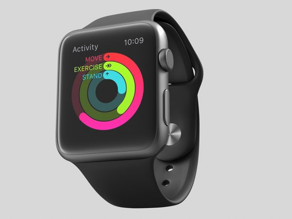 Мокап часов Apple