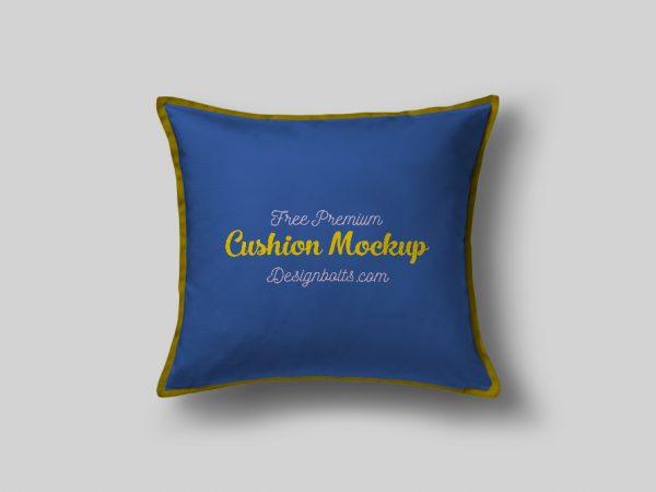 Мокап декоративной подушки