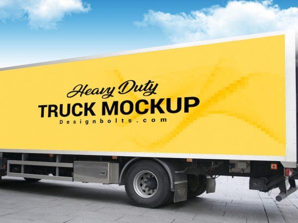 Мокап грузовика
