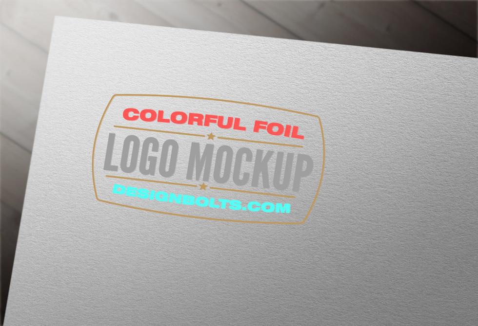 Мокап логотип