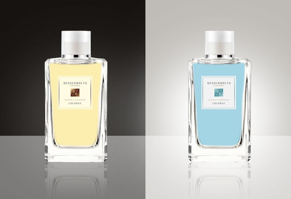 Мокап парфюмерных духов