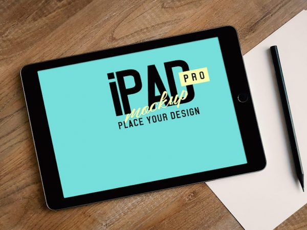 Мокап Apple iPad Pro