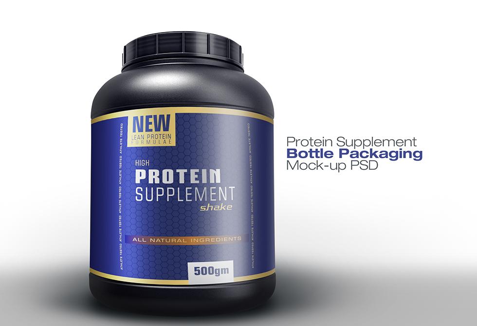 Мокап протеина