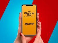 Мокап iPhone Xs Max