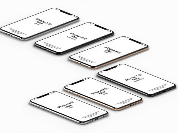 Мокап IPfone XS Max