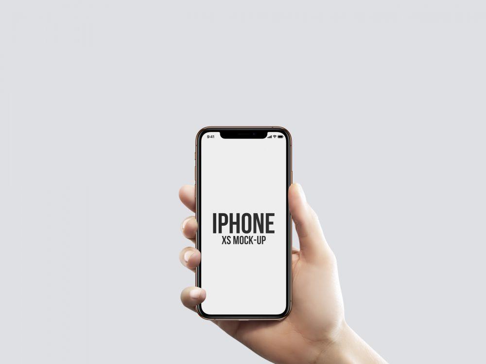Мокап IPhone XS