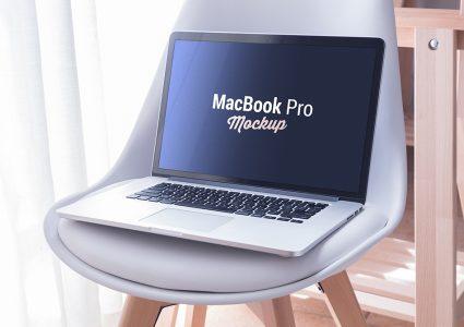 Мокап Macbook Pro