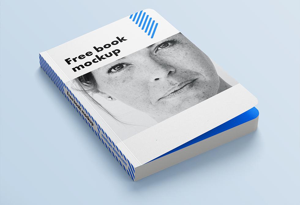 Мокап обложки книги