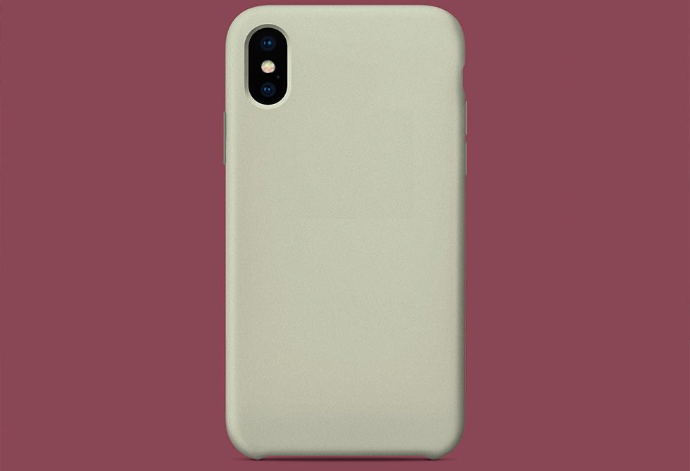 Мокап чехла iPhone X