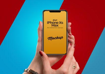 Мокап Phone Xs Max