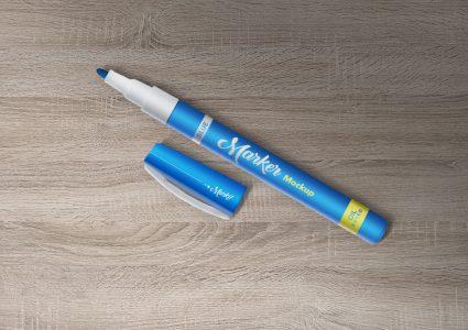 Мокап маркера